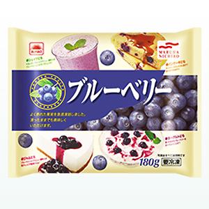 【M 60個セット♪】 マルハニチロ あけぼの ブルーベリー (180g)×60個 冷凍食品 おかし作りに