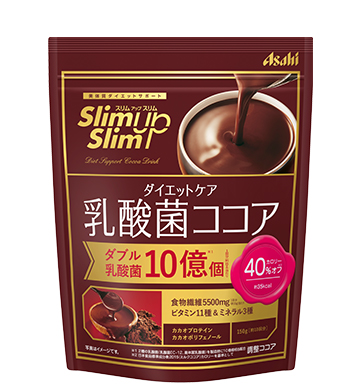 A アサヒ スリムアップスリム 150g 誕生日/お祝い 商い 乳酸菌ココア ダイエットケア