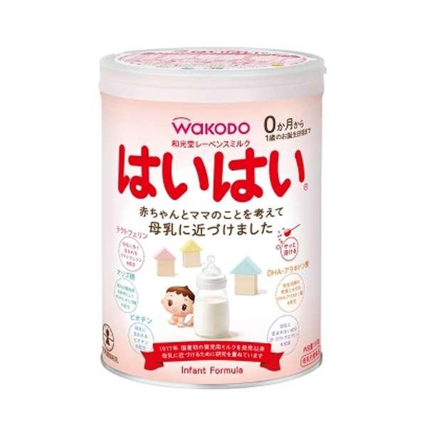 A 新作続 和光堂 レーベンス ミルク 0か月~1歳のお誕生日頃まで 810g 在庫処分 はいはい