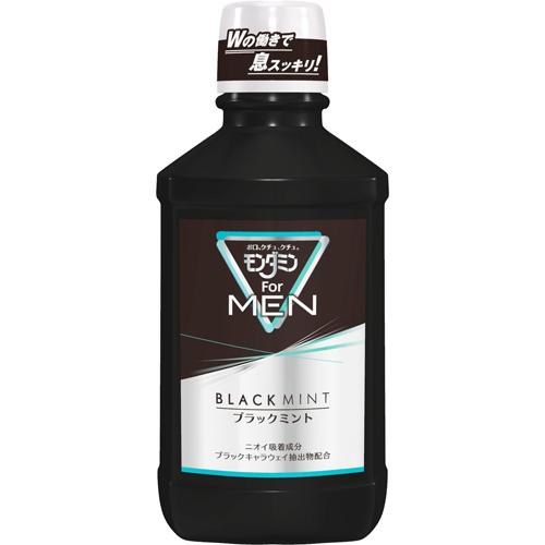 全物品点数两倍~♪Earth制药mondamin For MEN黑色薄荷(600ml)dentarurinsu、漱口药