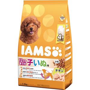 J マース アイムス 12か月までの子いぬ用 チキン味 小粒 評判 2.6kg ドッグフード 全国一律送料無料 ドライフード