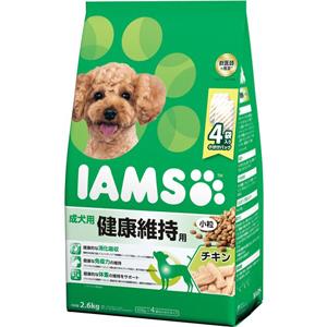 J マース アイムス 成犬用 セール特別価格 出群 健康維持用 チキン味 2.6kg ドライフード 小粒 ドッグフード