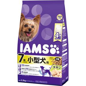 J マース アイムス 7歳以上用 初売り 小型犬用 ドライフード 直送商品 ドッグフード チキン味 小粒 2.3kg