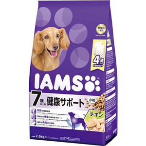 J マース アイムス 7歳以上用 健康サポート チキン味 2.6kg 小粒 超安い ドッグフード ドライフード 受賞店