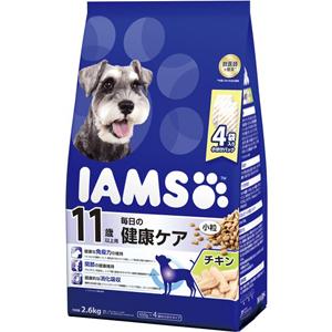 J マース アイムス 11歳以上用 毎日の健康ケア 2.6kg 小粒 チキン味 メーカー直売 ドライフード ドッグフード 舗