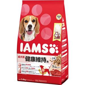 J 現品 値下げ マース アイムス 成犬用 健康維持用 ラムライス ドッグフード 小粒 2.6kg ドライフード