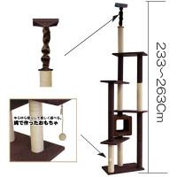 【J】 ドギーマン モダンルームスクラッチ タワーダブル(1台)