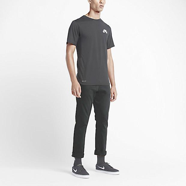NIKE SB FTM 5 POCKET CHINO PANTS BLACK sports and outdoor street series  sporting skateboard wear pants Chino SKATEBOARDING