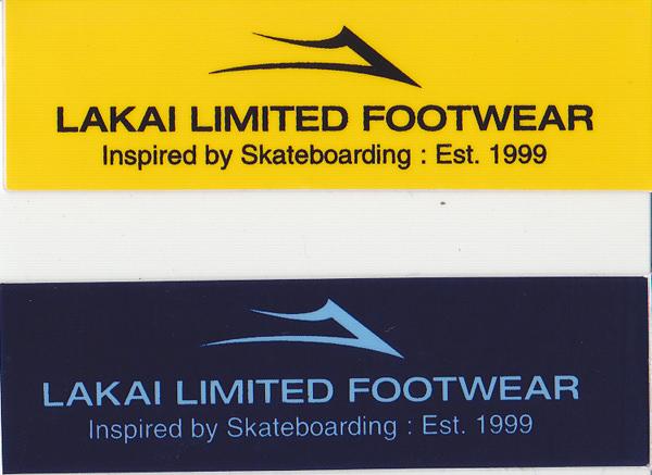 セールSALE%OFF メール便送料無料 ステッカー LAKAI 激安挑戦中 ラカイ スケートボード スノーボード ストリート系スポーツ スノボ アウトドア スポーツ スケボー