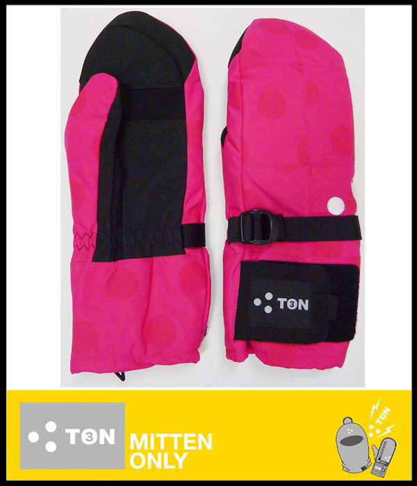 3TON(ミトン)スノーグローブSUPER 3TON PART2(PINK DOT)【ミトングローブ】【あす楽対応】スポーツ・アウトドア ウインタースポーツ スノーボード グローブ