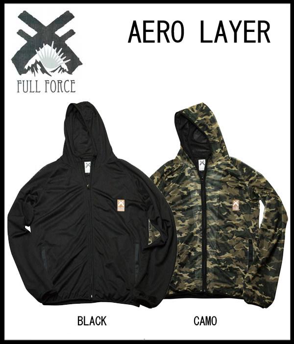 FULL FORCE AERO LAYERレイヤー インナー セカンドレイヤーフルフォース スポーツ・アウトドア ウインタースポーツ スノーボード メンズウエア ジャケット