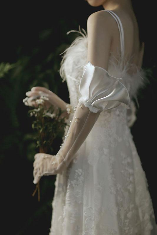 ウエディンググローブ NEW ARRIVAL ウェディンググローブ グローブ 海外ウエディング 信憑 パーティー 結婚式 刺繍 花嫁 手袋 ブライダル ロング 花嫁手袋 二次会 撮影用 可愛い 高級 披露宴 ウェディング グローブパーティー手袋 wedding 小物 dress パール 撮影道具