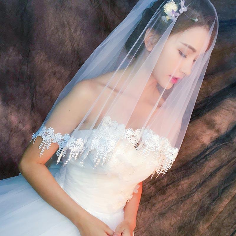 ウェディングベール 海外ウエディング 結婚式 フェイスアップ ショート ベール 二重ベール ロングベール ベールダウン ブライダル レース付き 新色追加して再販 ミドル丈 2重ベール ストア ヴェール 挙式 ウェディング コーム付き