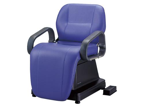 電動シャンプー椅子 80AE 固定式 SA59<br> メーカー直送 代引き不可