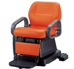 電動シャンプー椅子 82AE ステップ式 SA54<br> メーカー直送 代引き不可