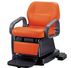 電動シャンプー椅子 82AE ステップ式 SA59<br> メーカー直送 代引き不可 取り寄せ商品A