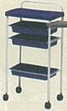TS-065 セット台 ロイヤルブルー<br> メーカー直送 代引き不可 取り寄せ商品A