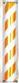 喜田 K-3633 サインポール オレンジ 取り寄せ商品B