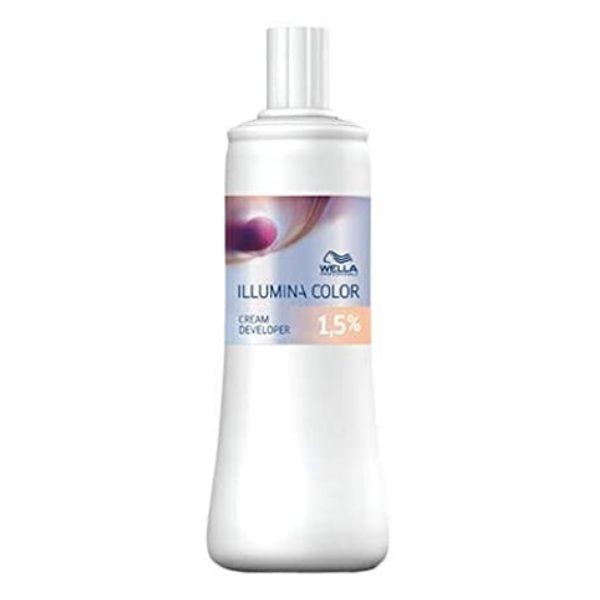 業務用カラー剤 wella ILLUMINA あす楽 全品最安値に挑戦 ウエラ クリームディベロッパー1.5% 内祝い イルミナカラー カラー2剤 オキシ