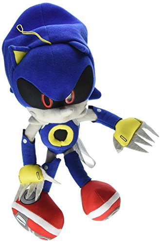 Great Eastern GE-52523 Sonic The Hedgehog by Plush Stuffed 11 配送員設置送料無料 通販 激安◆ Metal