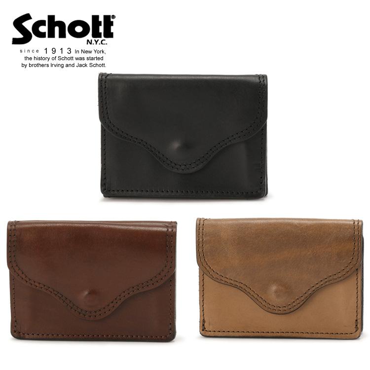 Schott/ショット 公式通販 | VASCO/ヴァスコ/LEATHER VOYAGE POCKET WALLET(8×10.5)/ウォレット 財布 革財布 牛革 レザー ポケット【送料無料】