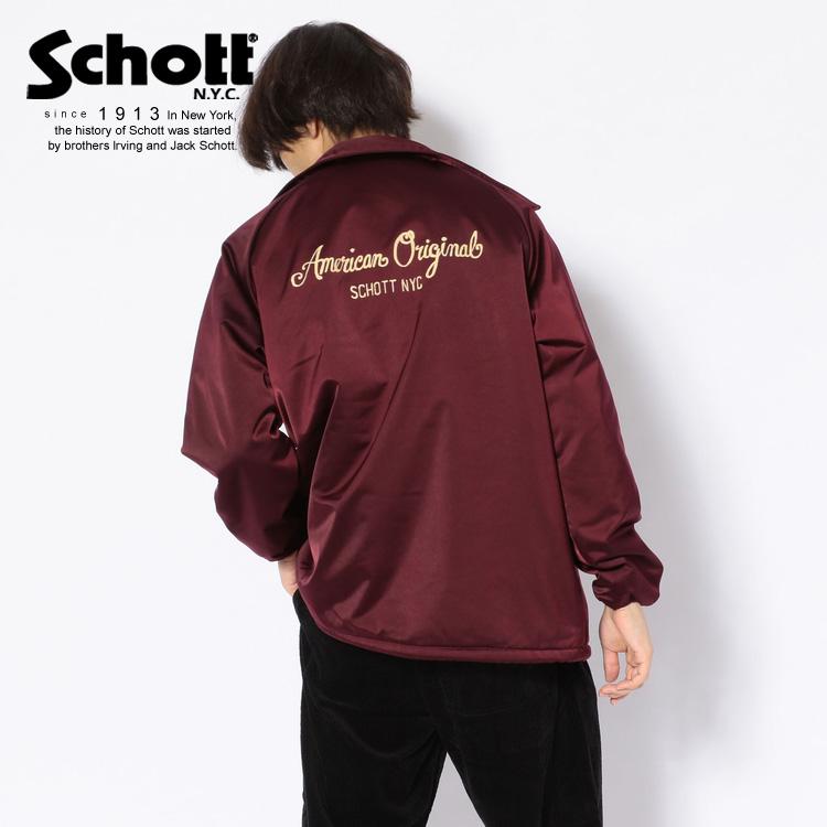 ★SALE   Schott/ショット 公式通販   COACH JKT/コーチジャケット※セール/アウトレット品につき交換 返品不可