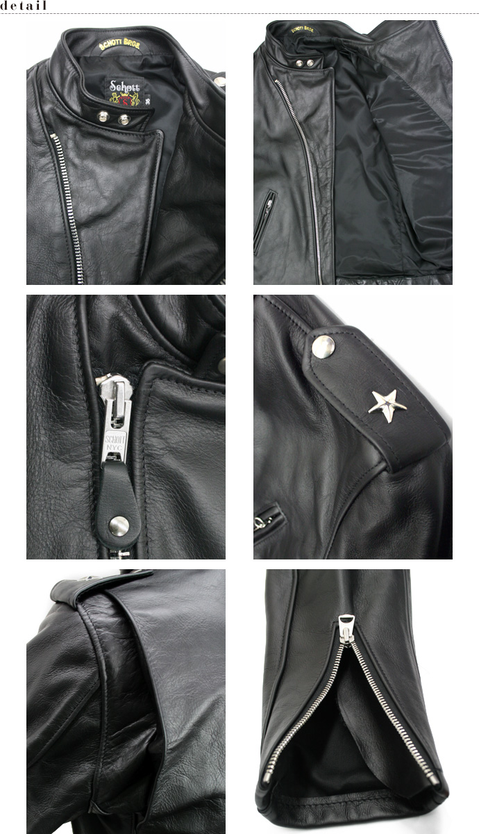 SCHOTT official store | 603 US STAND ONESTAR RIDERS スタンドワンスター riders jacket leather USA