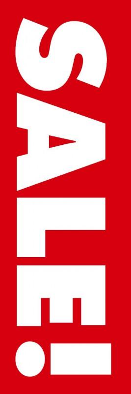 SALE 新作 大人気 セール [正規販売店] バーゲンのぼり旗既製品 のぼりサイズ:180×60cm 素材:ポンジ 赤背景 既製デザイン 旗 のぼり