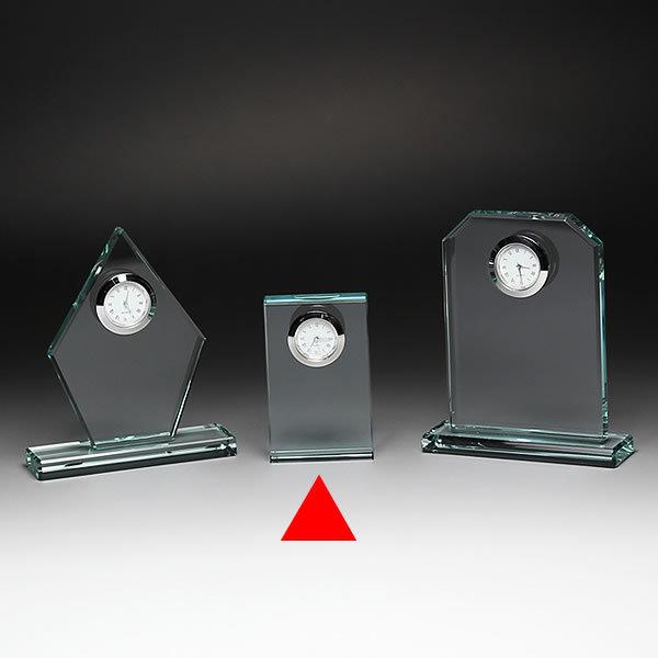 クリスタル クロック 時計 DT-18 彫刻無料 記念品 表彰 周年記念 創立記念 退職記念 お祝い 名入れ プレゼント 還暦 喜寿 金婚式 銀婚式