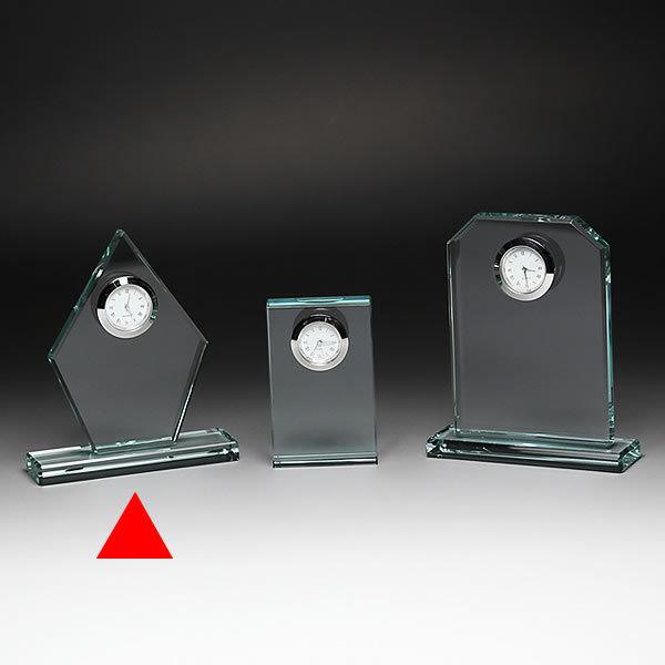 クリスタル クロック 時計 DT-20 彫刻無料 記念品 表彰 周年記念 創立記念 退職記念 お祝い 名入れ プレゼント 還暦 喜寿 金婚式 銀婚式