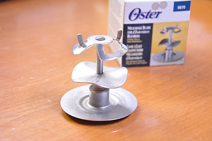 オスタライザー Oster Blender parts genuine ミルクシェークブレード unused brand new osterizer OSTER Blender