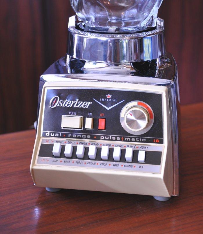 Vintage オスタライザー Blender Osterizer Imperial of parsma TIC 16 juicer mixer