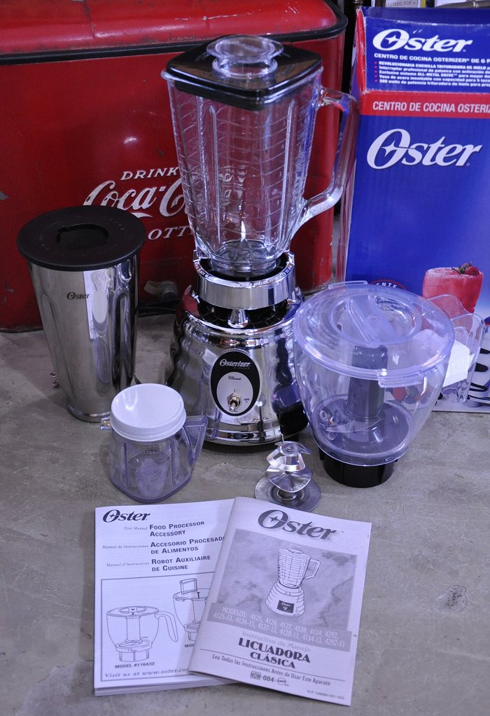 Scoops オスタライザー ( Oster ) Classic Blender 4125 Unused