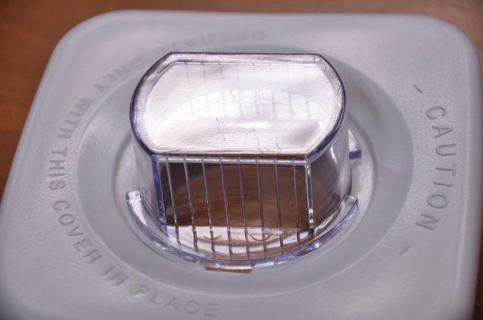 オスタライザー Blender parts lid white juicer mixer