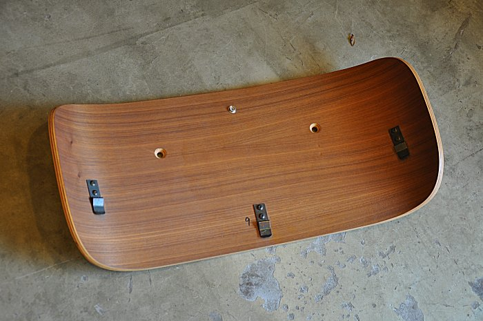 Eames Lounge Chair for replaced parts back top parts Walnut genuine