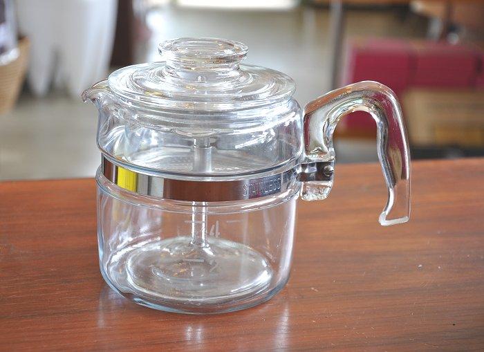 Pyrex frame were 4 cup percolator Pyrex PYREX Corning coffee maker