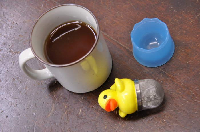 Tea strainer with tea Infuser ducks baby ducks