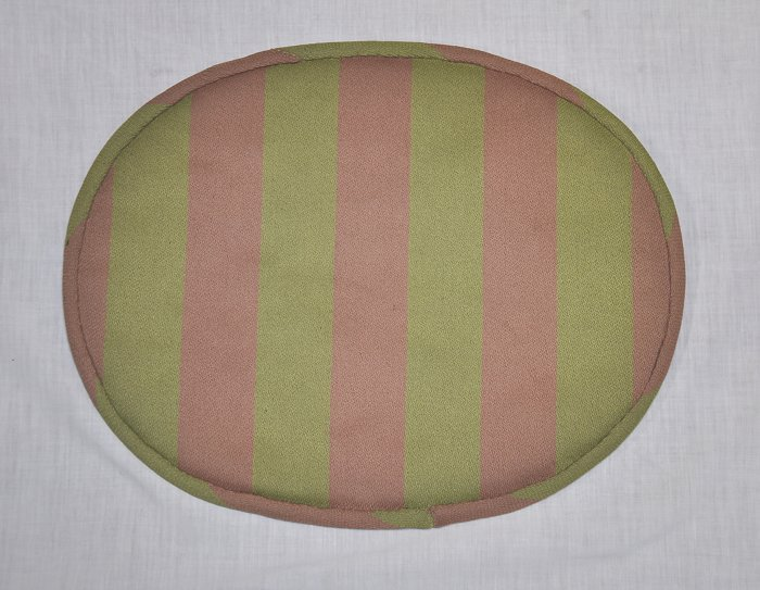 For Eames seat pad US vintage fabric stripe SCOOPS original