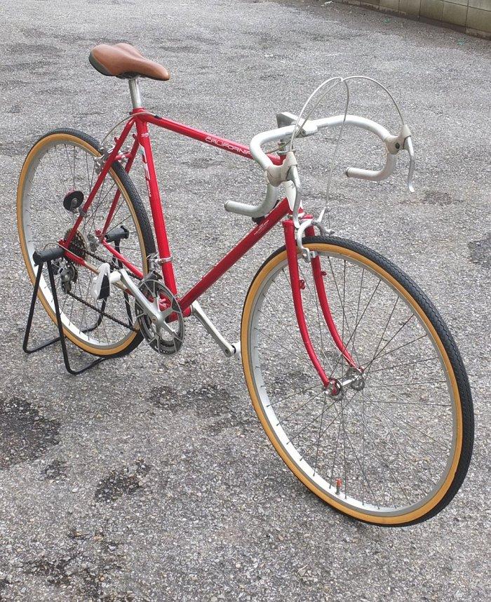 ミヤタ カリフォルニア ビンテージ ロードレーサー クロモリ 旧車 【送料無料】 自転車 MIYATA California 通勤 ジテ通