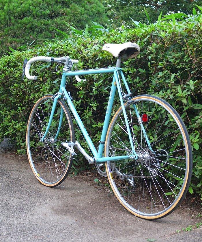 朋友公司豹公路赛车的朋友豹杉并区阶自行车老式禧玛诺 600 丹下健三 chromoly