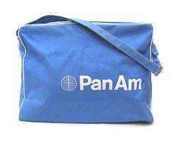 Pan am airlines airline shoulder bag PANAM • sky blue