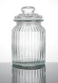 グラスキャニ star lid glass jar size M
