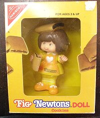 NABISCO FIG NEWTONS DOLL ナビスコ フィグ・ニュートンズドール♪ 箱入り 【送料無料】