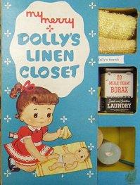 Dolly's Closet ドリーのクローゼット リネン・ミニチュアセット ドールハウス  【送料無料】