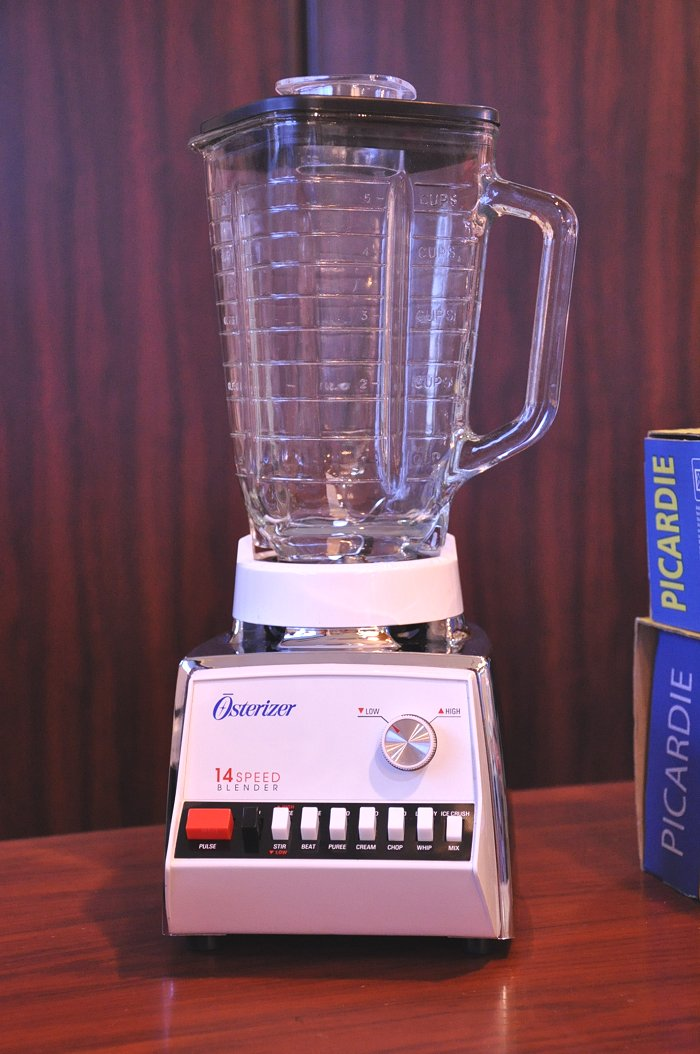 Vintage オスタライザー Blender Osterizer 14 speed pulse function with juicer mixer