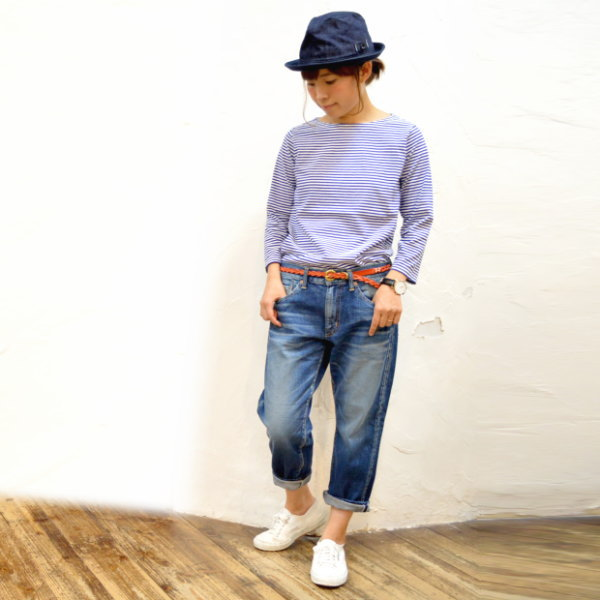 [I double all article P10!] It is 10P18Dec12 】 DEEP BLUE ankle length denim underwear [email service impossibility] [easy _ ギフ packing] [RCP] [Sakawa free shipping] [_ Kinki tomorrow for comfort] until 12/21 9:59