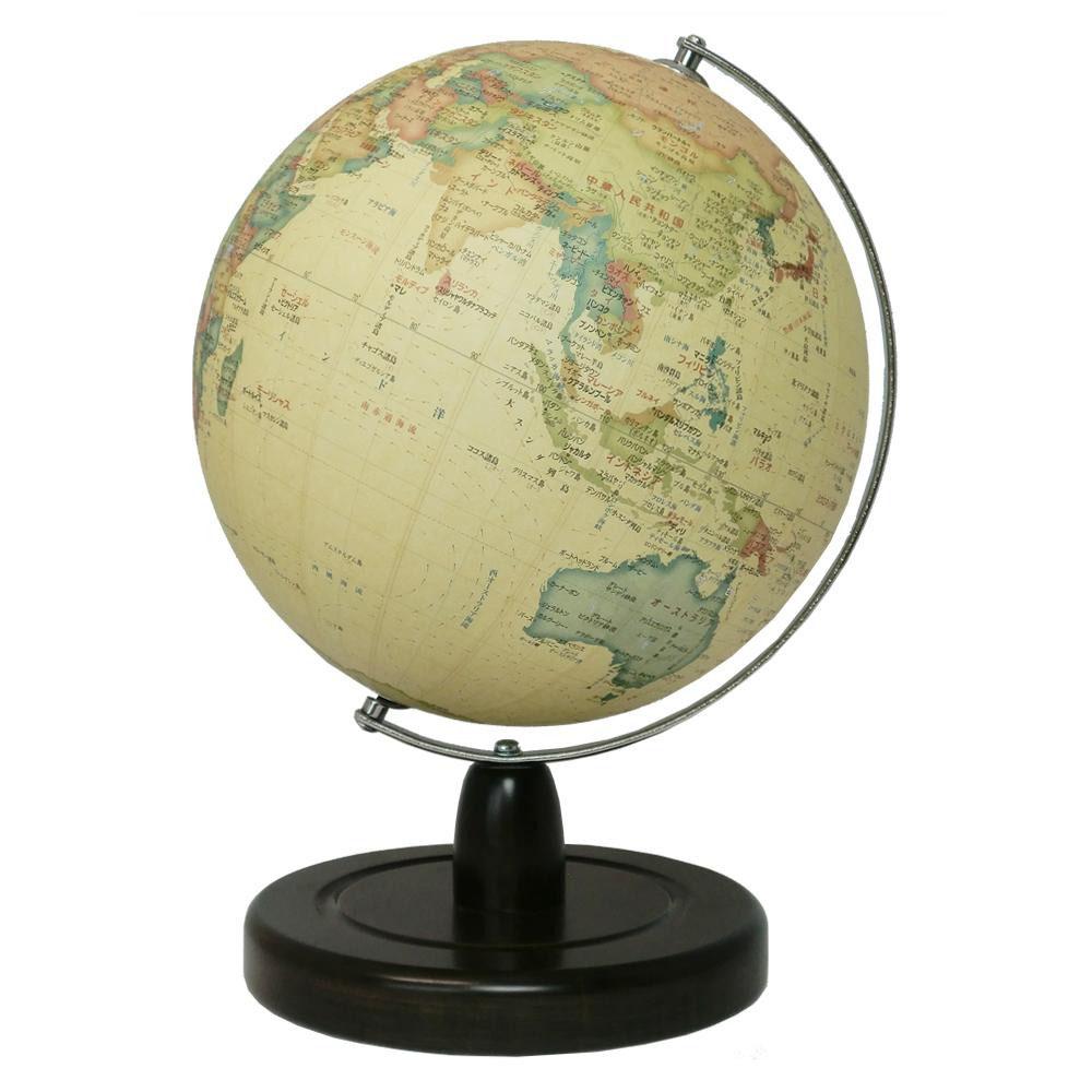 SHOWAGLOBES 地球儀 アンティーク風 21cm 21-CAX 書斎やリビングの雰囲気をグレードアップします。