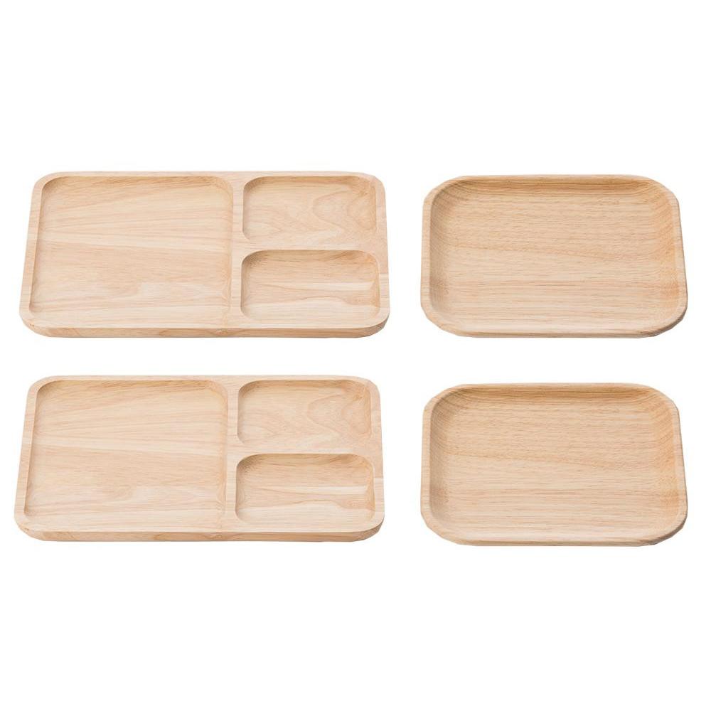 木製 ウッドプレートセット 501 535-501 食卓をナチュラルに演出するウッドプレートのセット!!