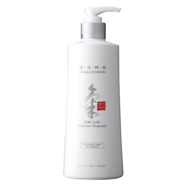 デンギモリ気ゴールドプレミアムトリートメント 300ml 韓方のチカラで頭皮と髪の健康を整える。