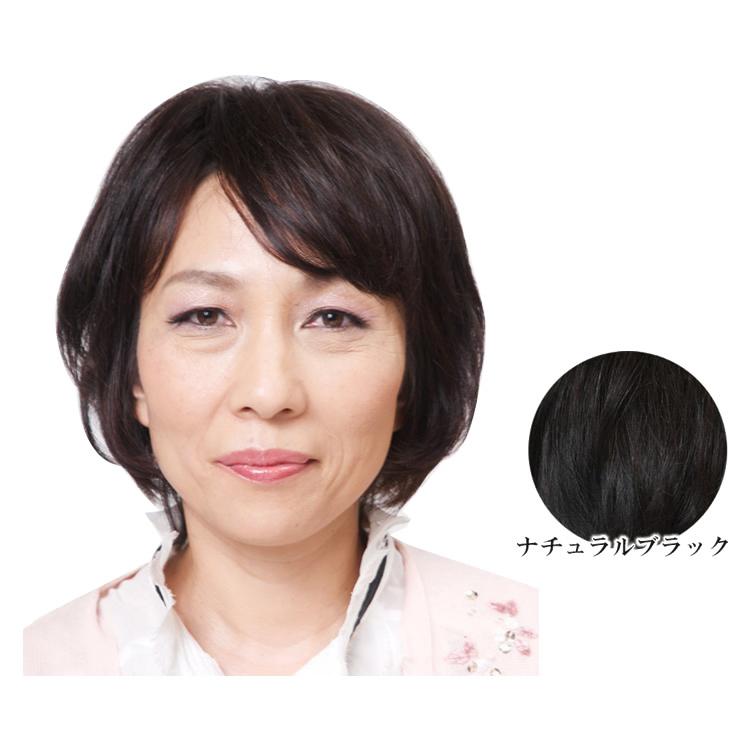 人毛100% わけ目隠し用の小型ヘアピース レミーヘアータイプ ナチュラルブラック TP20 使いやすい小型サイズのわけ目隠し用ヘアピース。 ヘアケア 送料無料